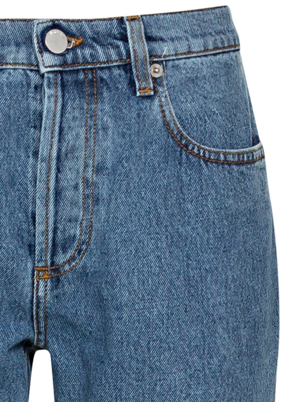 Raw Hem Slim Jeans image number 2