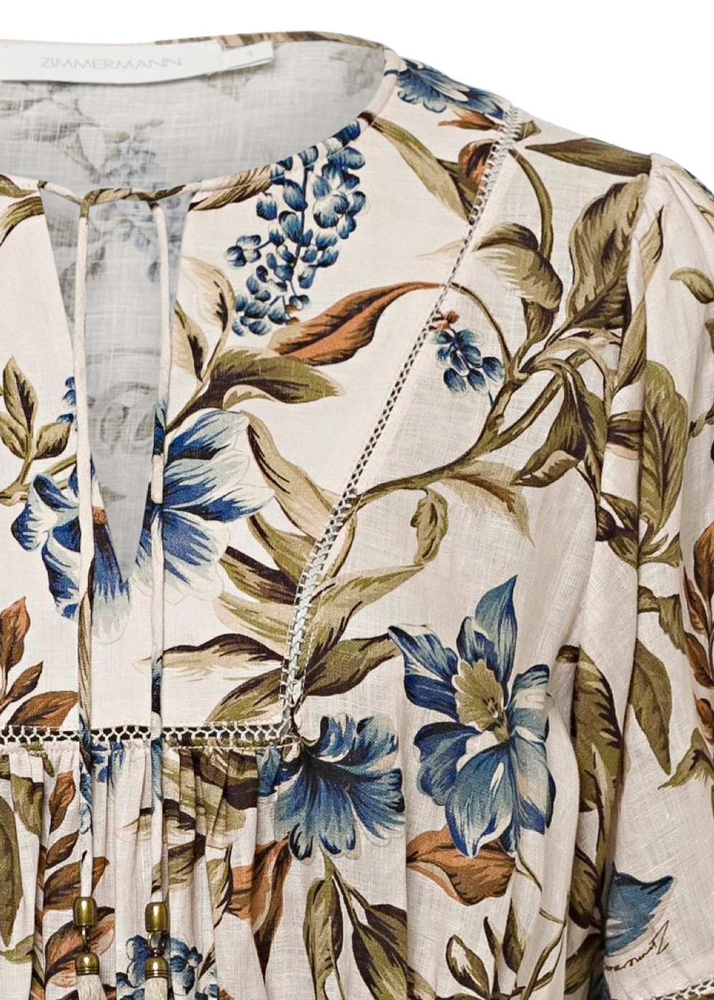 Aliane Shirred Waist Dress image number 2