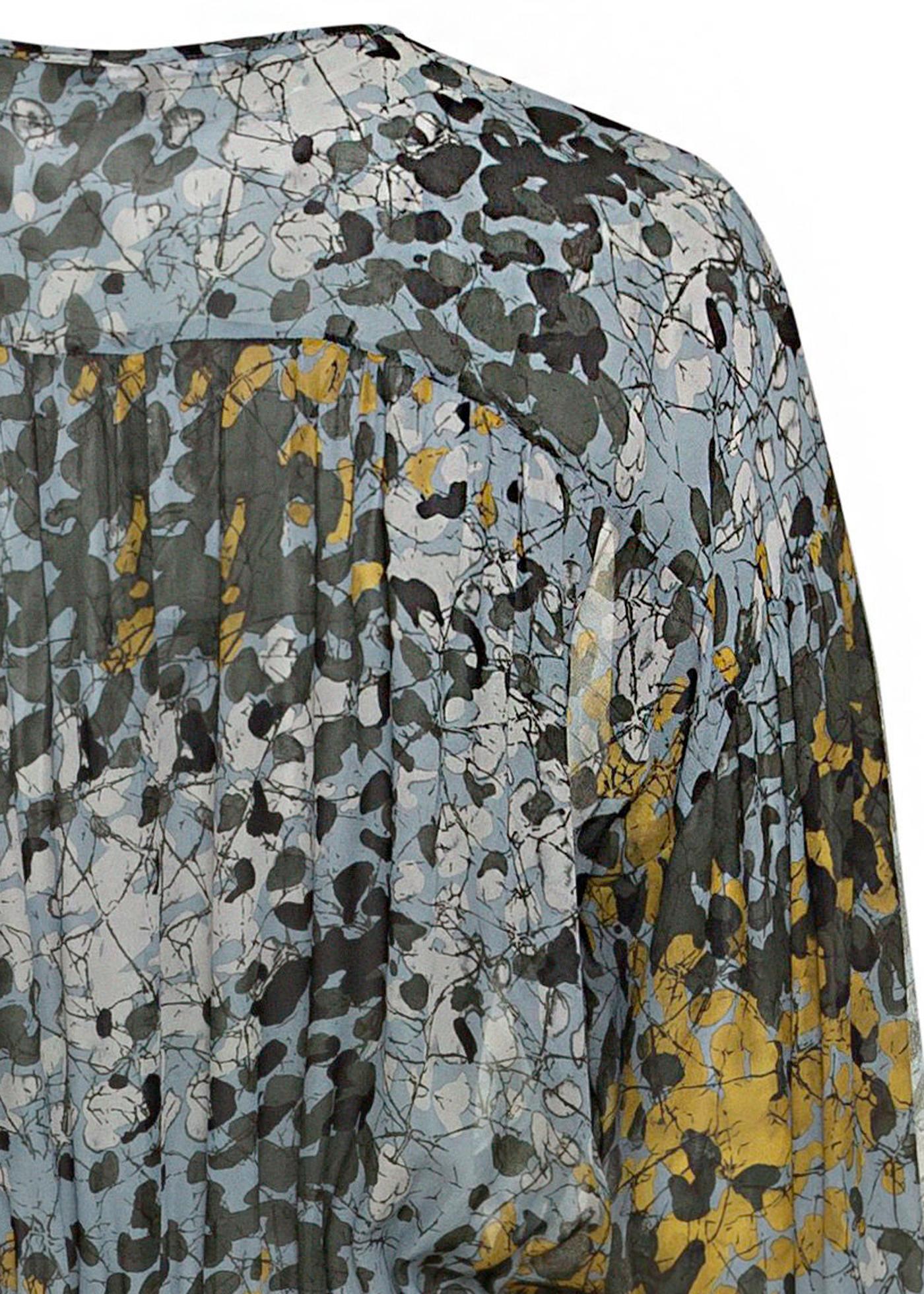 Midi-Kleid Camouflage-Print image number 3