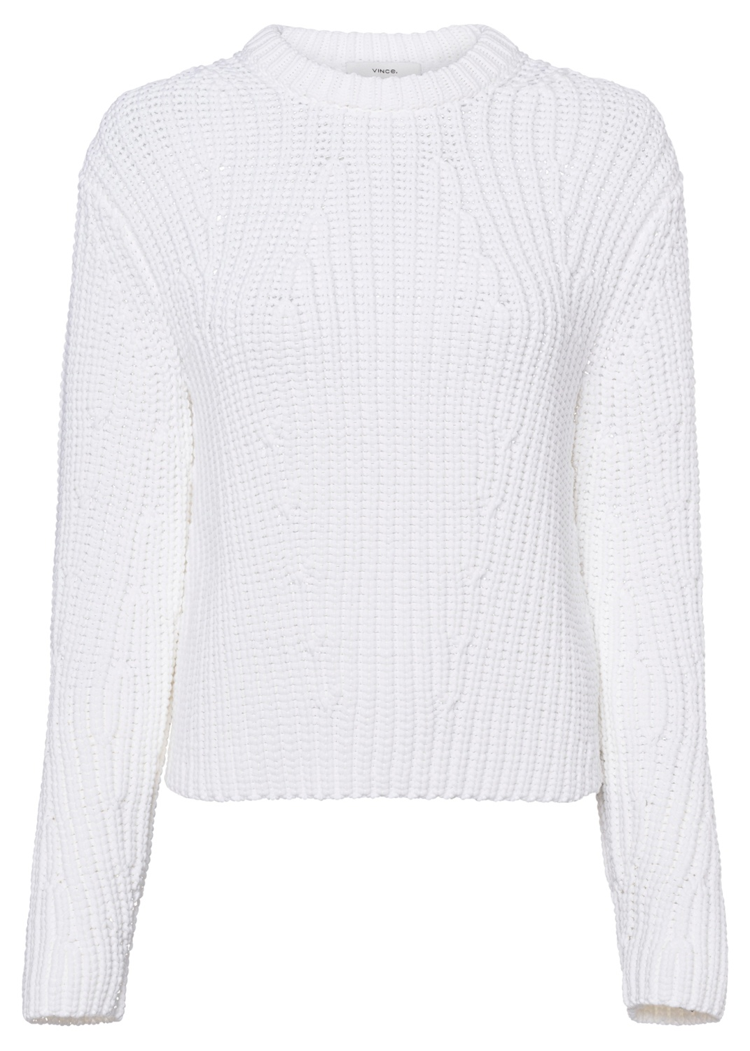 MIRRORED RIB PULLOVER image number 0