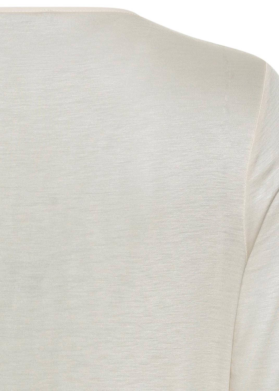Blusenshirt mit Wickel-Effekt image number 3