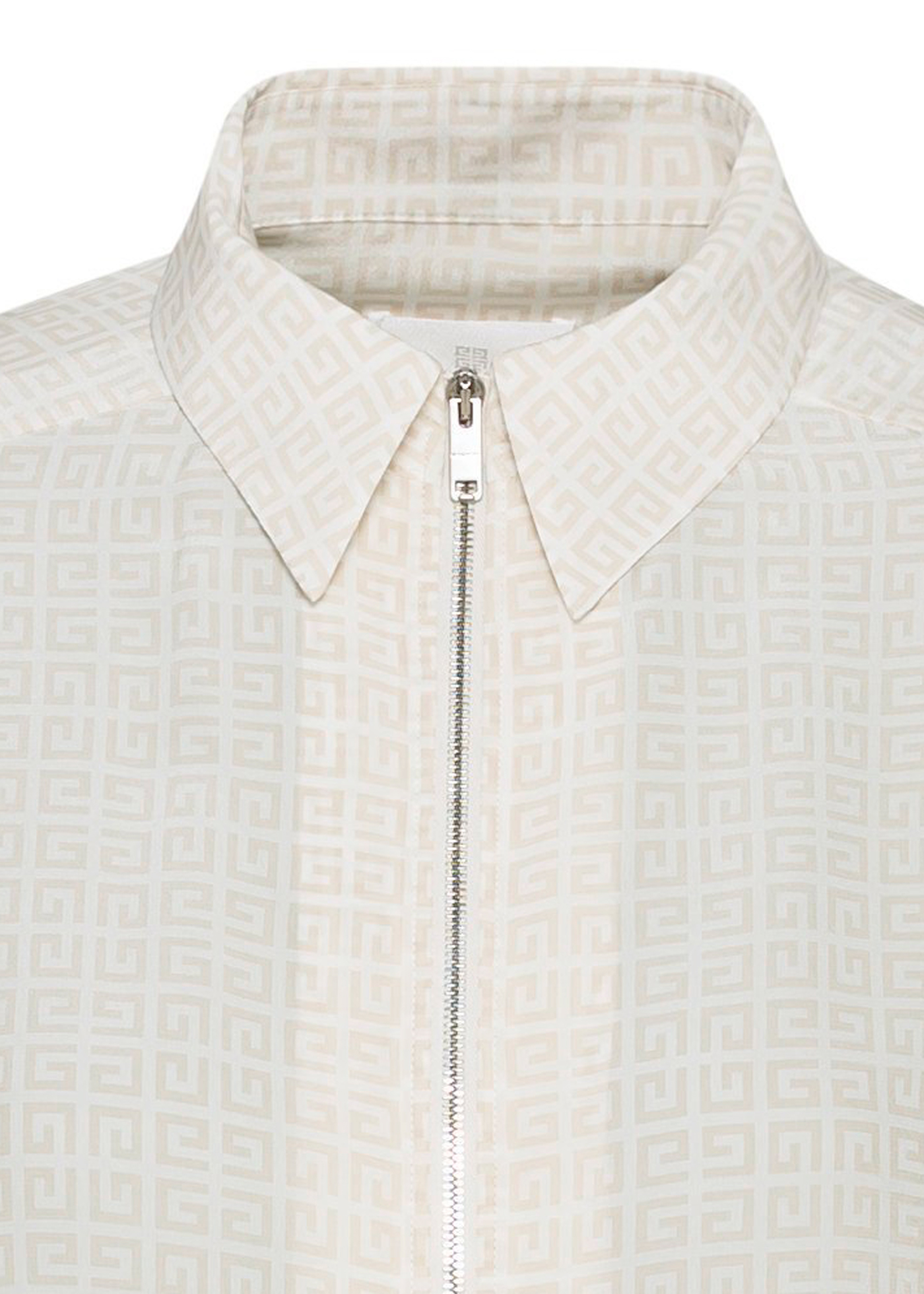 CLASSIC SHIRT WITH FRONT ZIP image number 2