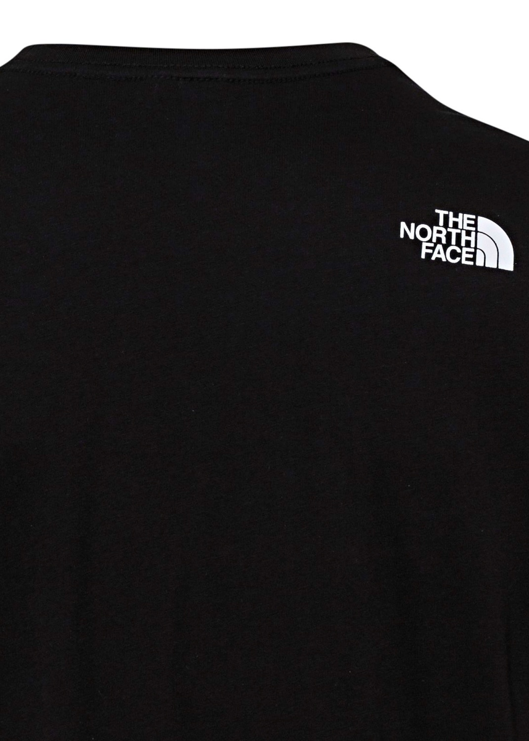 M S/S FINE TEE TNF BLACK image number 3