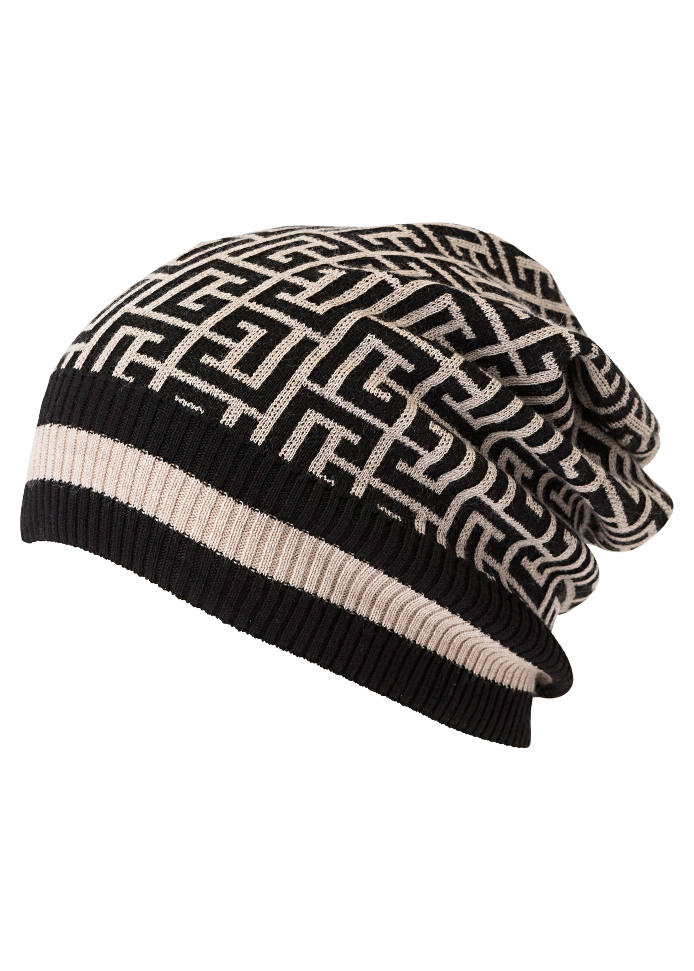 MONOGRAM MERINO KNITTED HAT image number 0