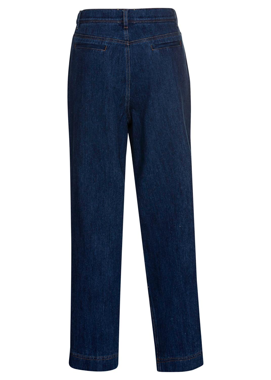cavalry denim high waist pants image number 1