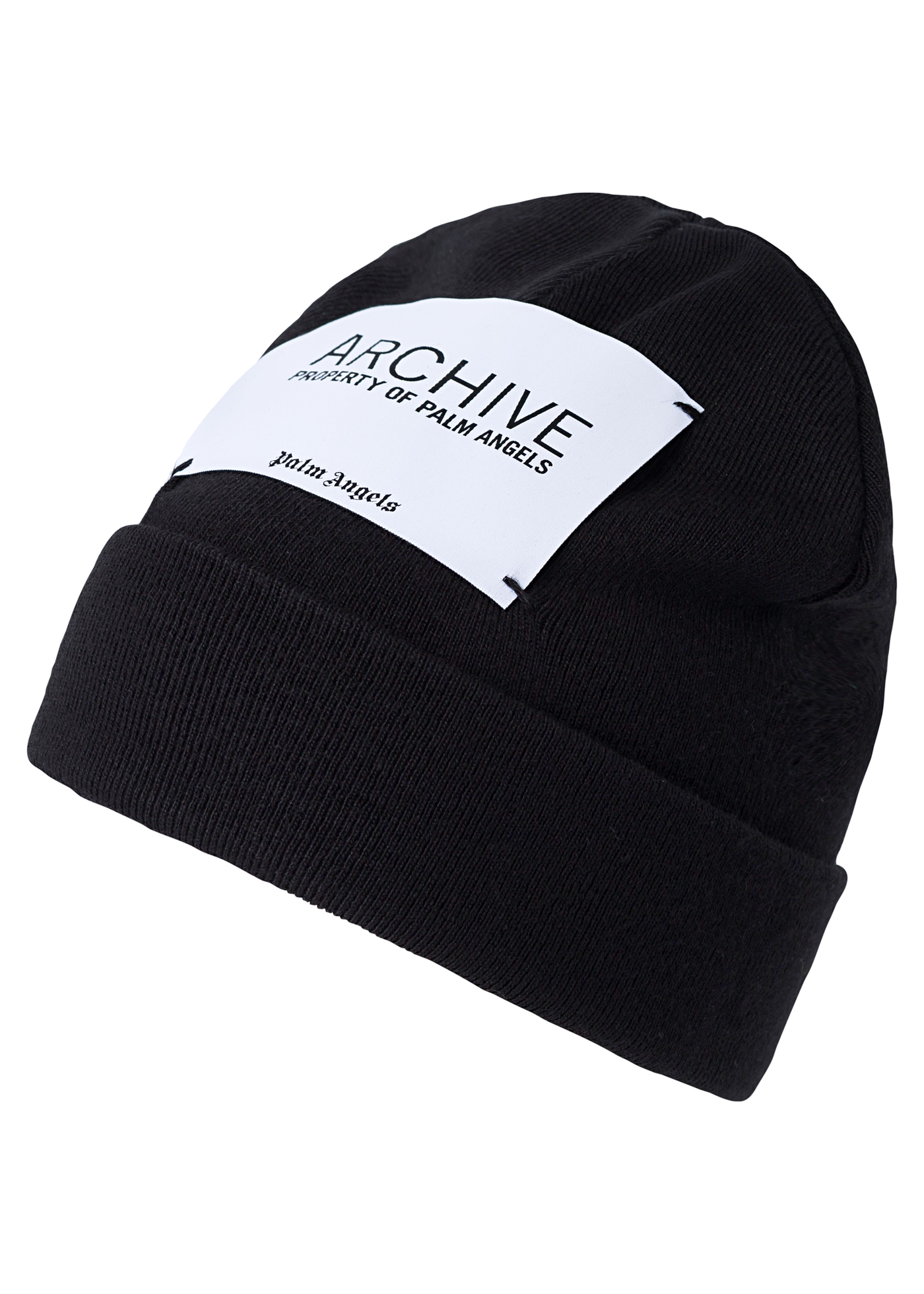 ARCHIVE BEANIE  BLACK WHITE image number 0