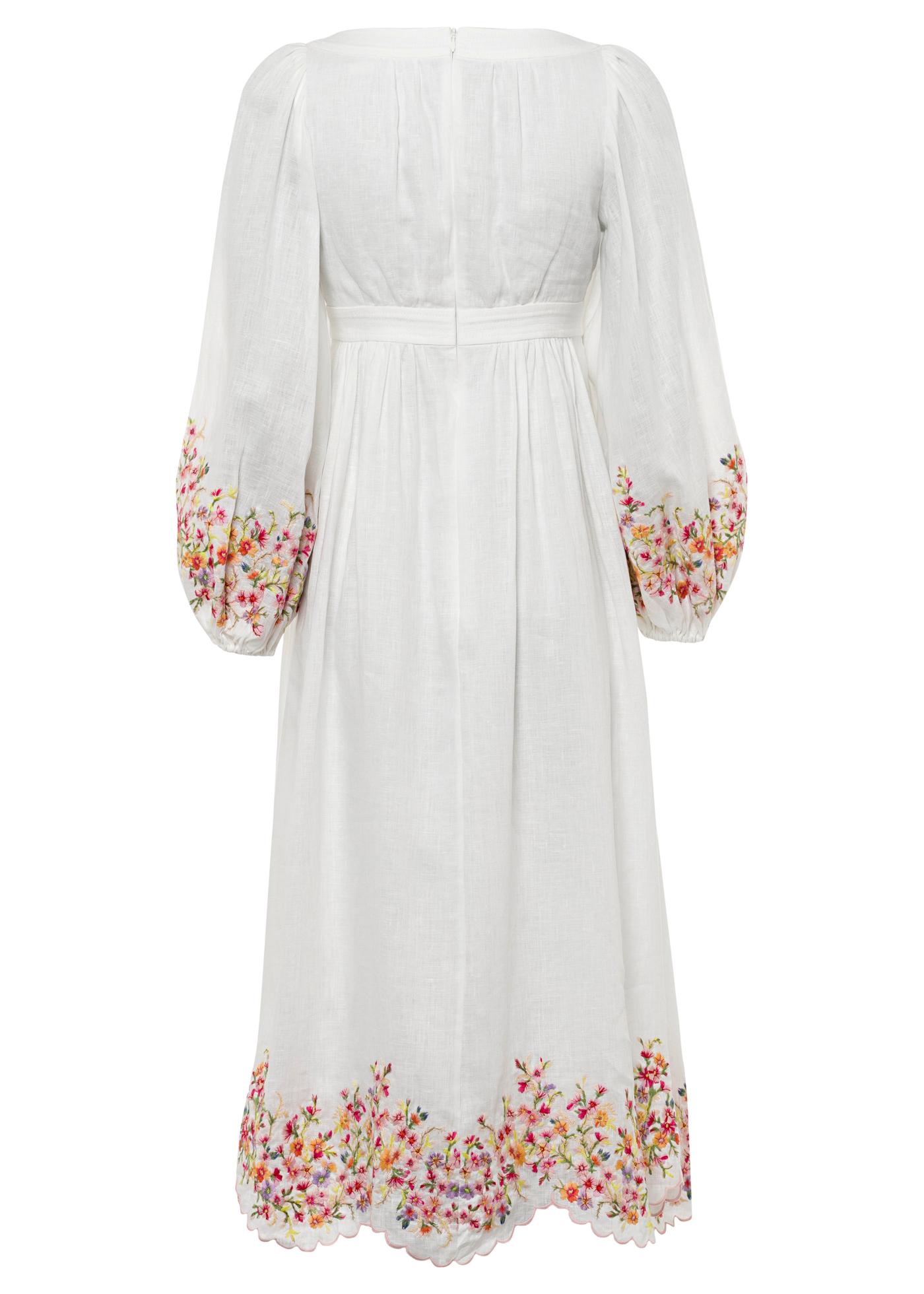 Mae Floral Midi Dress image number 1