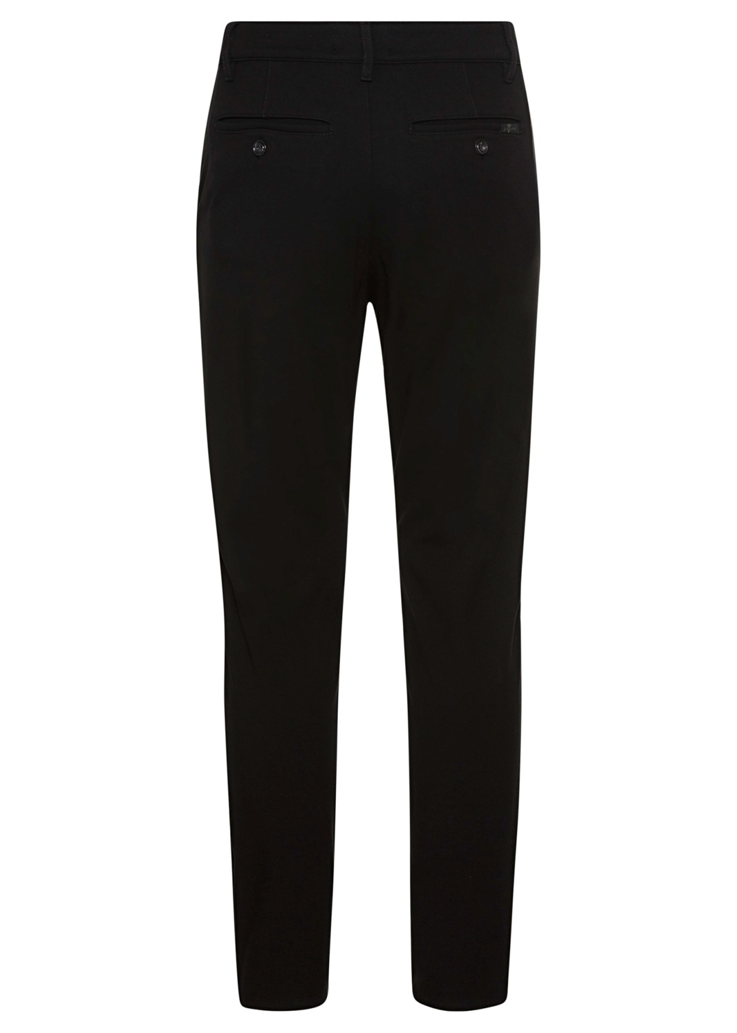TRAVEL CHINO Double Knit  Black image number 1