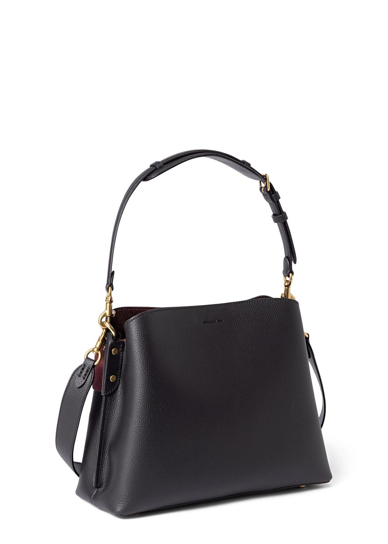 polished pebble leather willow shoulder bag image number 1