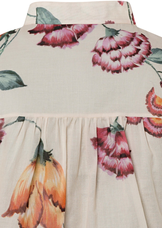 Bluse mit Vintage-Flower-Print image number 3