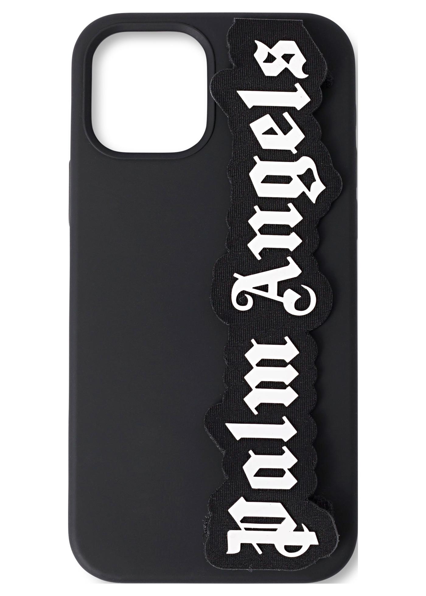 LOGO IPHONE CASE 12 /12 PRO BLACK WHITE image number 0