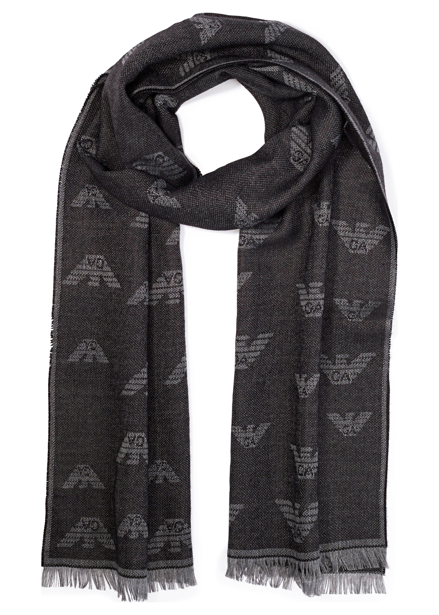 WOVEN SCARF 43X185 W image number 0