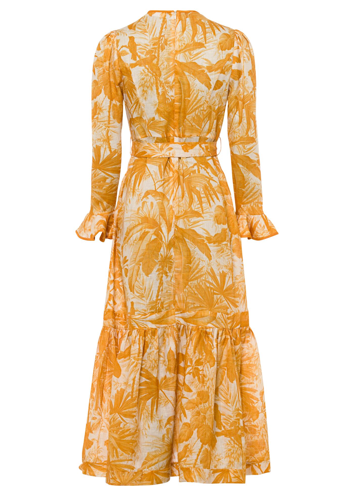 Mae Frill Midi Dress image number 1