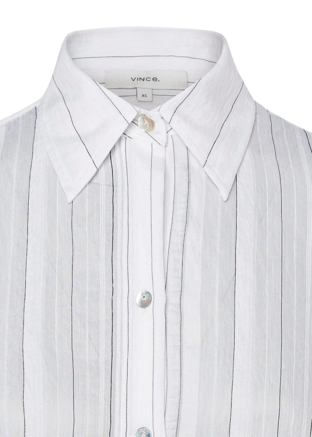 DRAPEY STRIPE CONVERTIBLE BUTTON Down image number 2