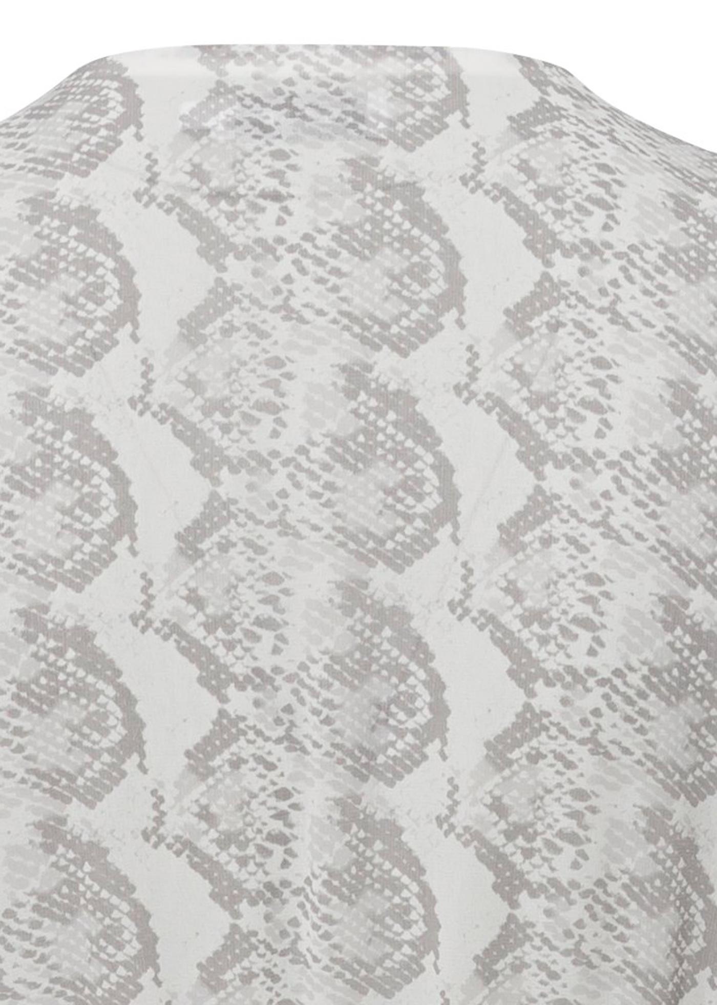 GEORGETTE LS WRAP MAXI DRESS image number 3