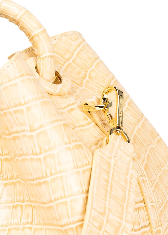 Raisin Croco Bucket Bag Large image number 2