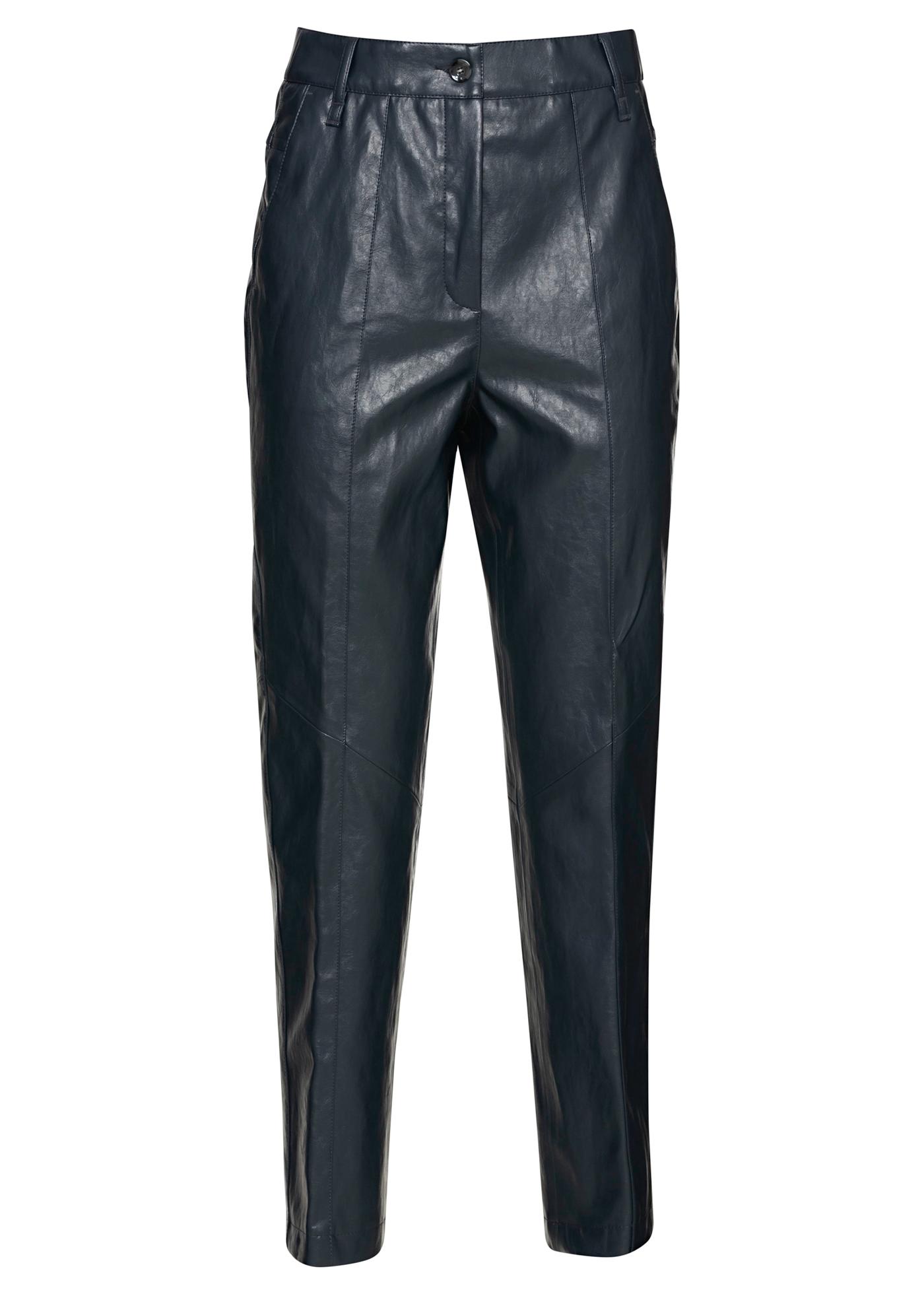 Tapered Pants in Leder-Optik image number 0