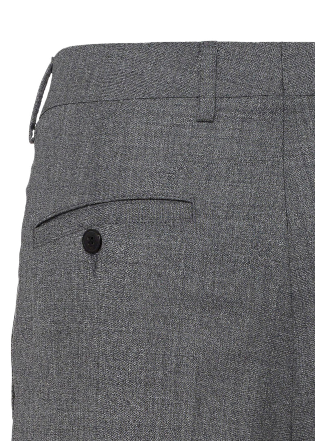 MEN PLEATED CARROT FIT TROUSERS image number 3