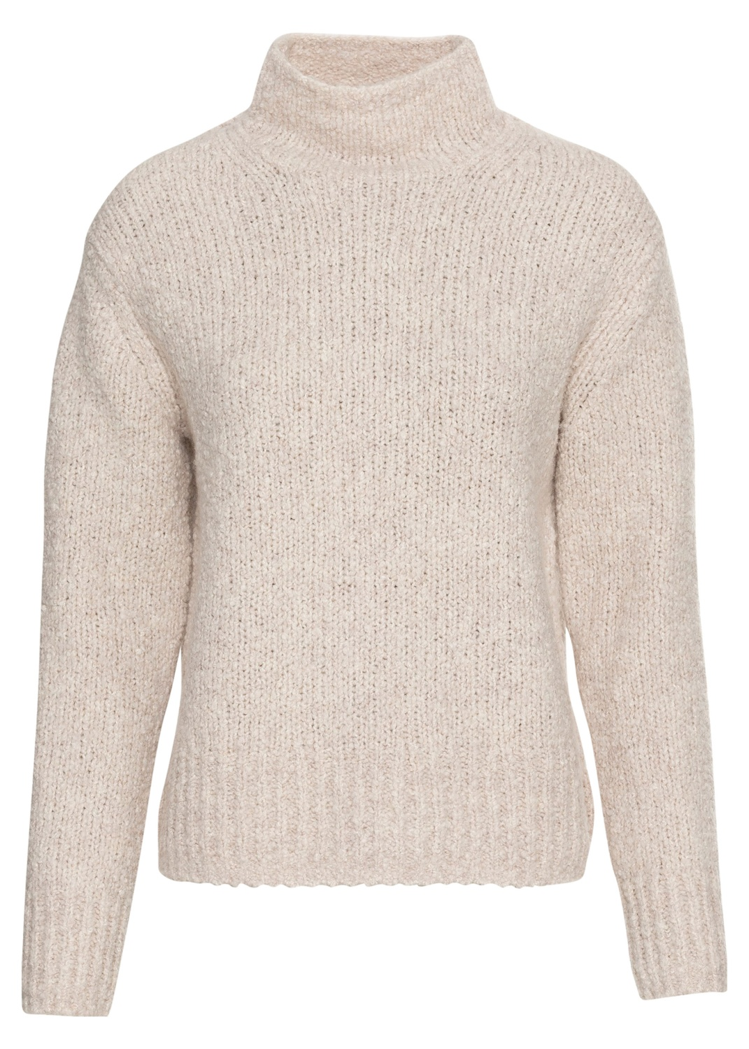 TEXTURED FUNNEL NK PULLOVER image number 0