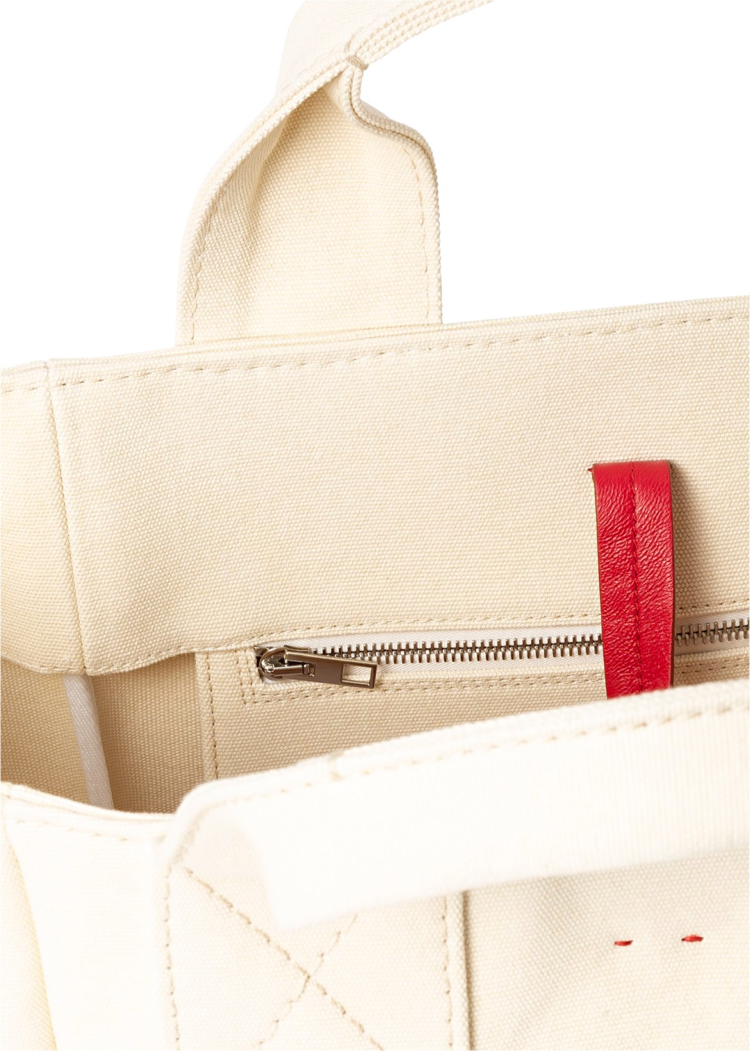 Alissa Canvas Tote image number 3