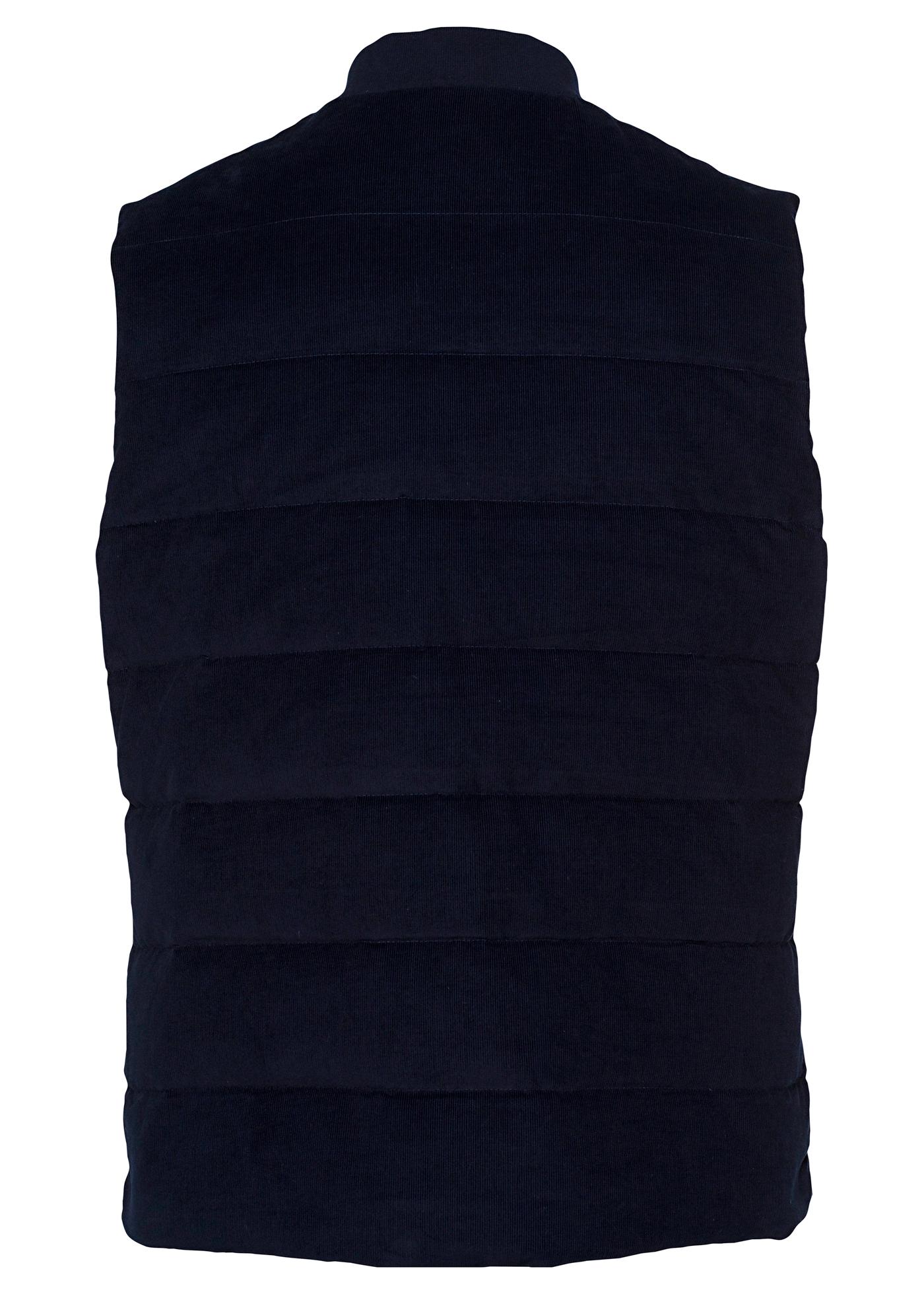 Quilt Baseb Cord Vest image number 1