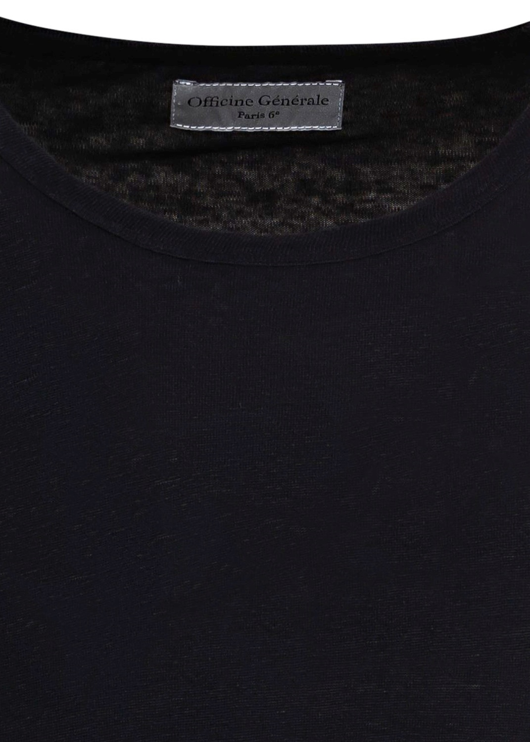 EMILE TEE PIECE DYED LINEN image number 2