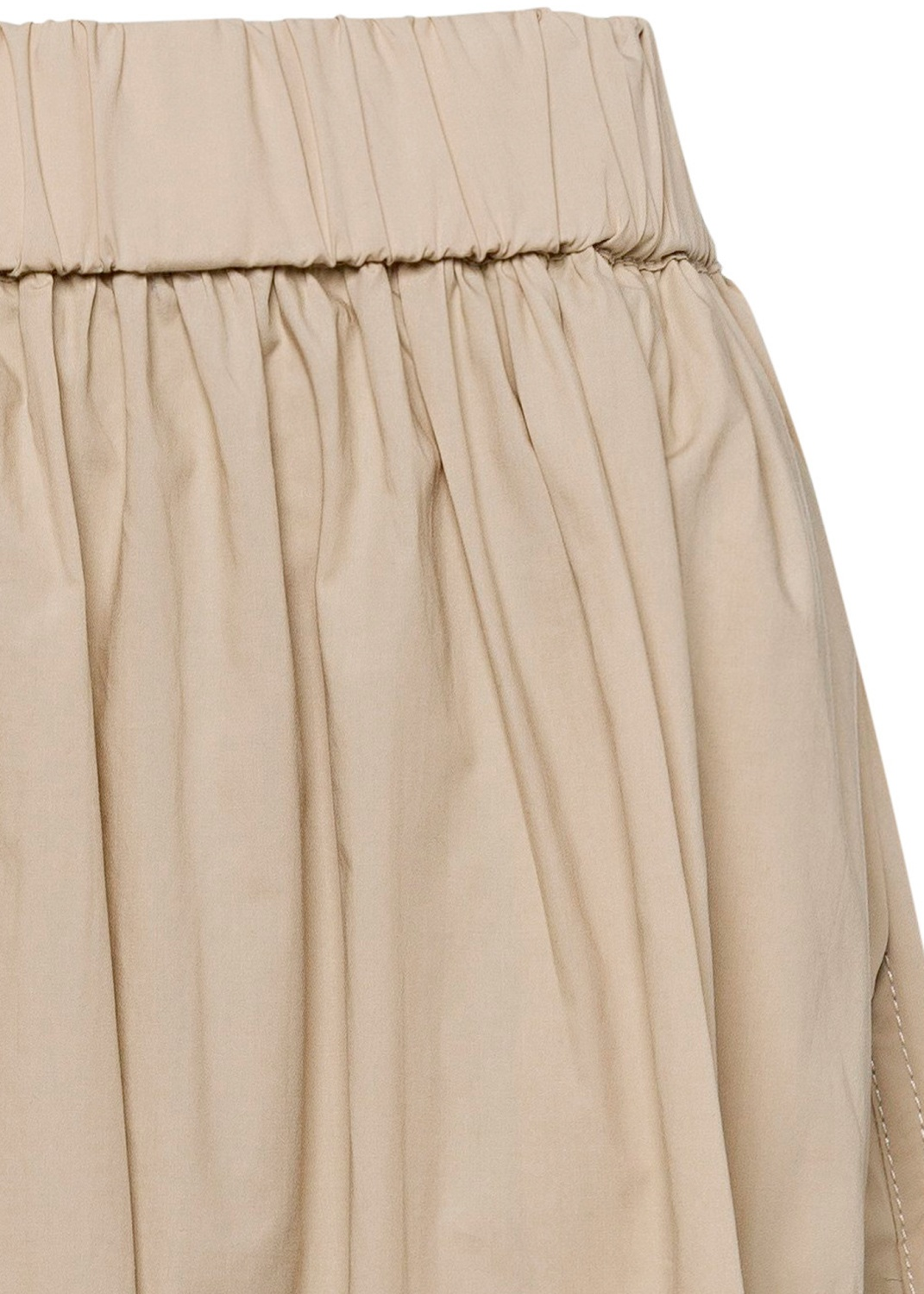 Cotton skirt female image number 2