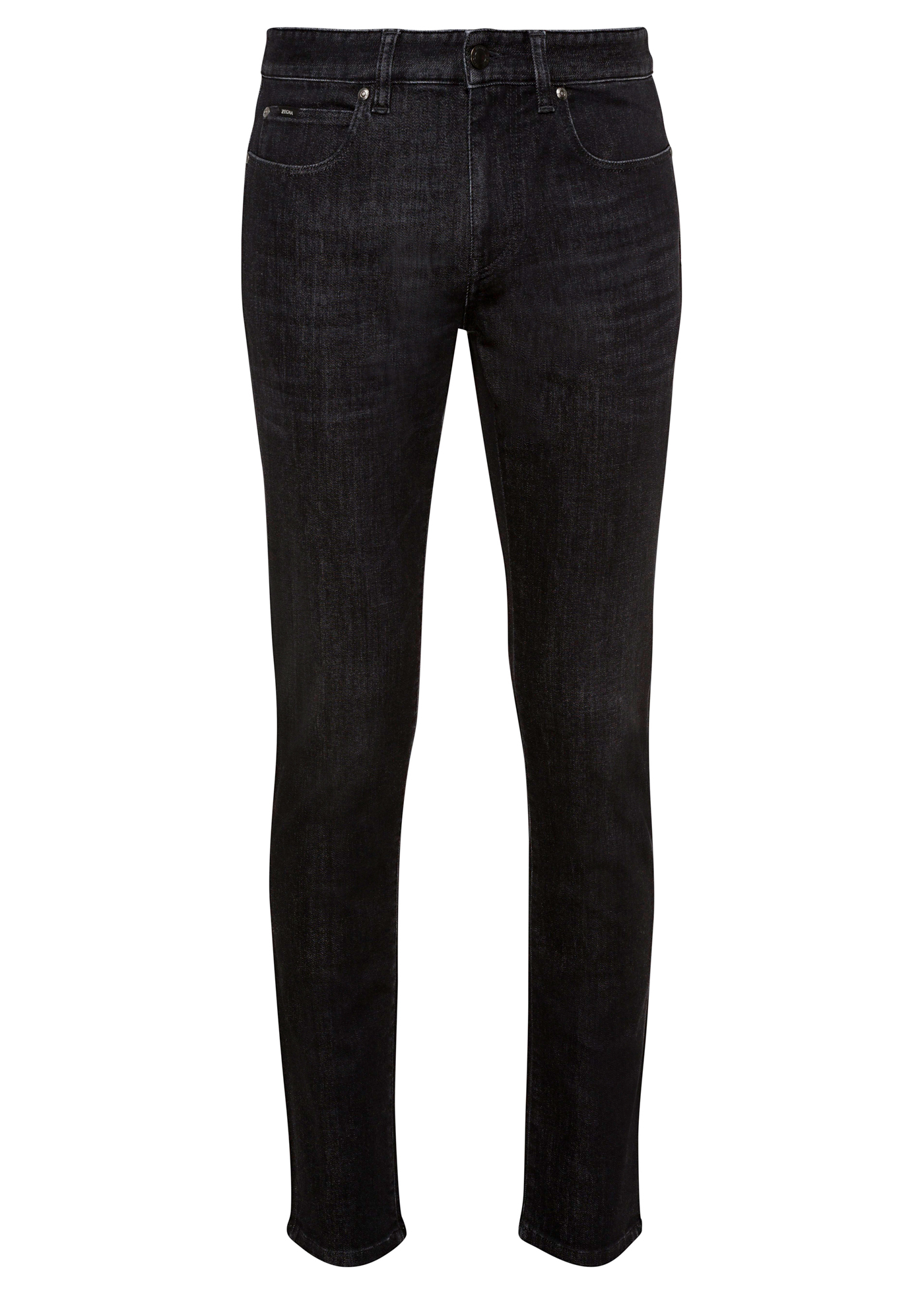 LUXE TWILL BLACK DENIM image number 0