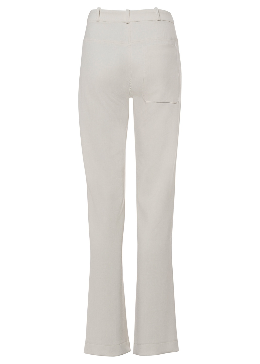 TIGHT HIGH WAIST PANTS WITH SLITS image number 1