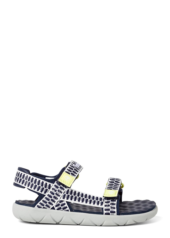 Perkins Row Webbing Sandal BLACK IRIS image number 0