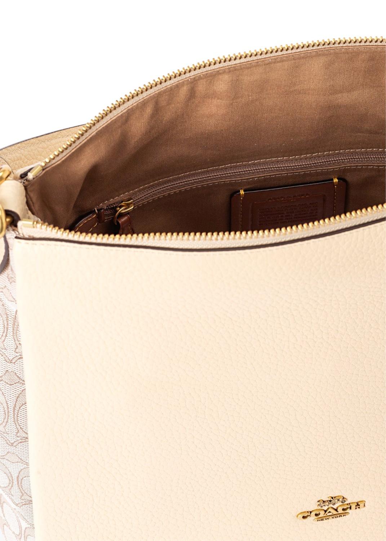 signature jacquard shay shoulder bag image number 3
