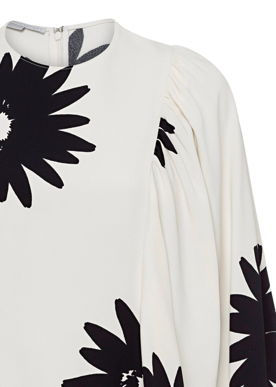 Luciana Dress Linda Floral Sable Envers Satin Print image number 2