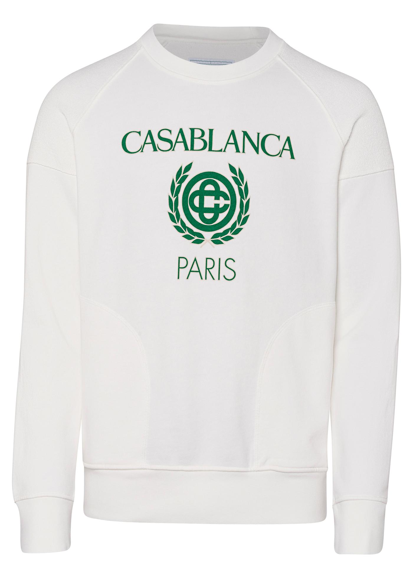 Reverse Loopback Panel Sweatshirt image number 0
