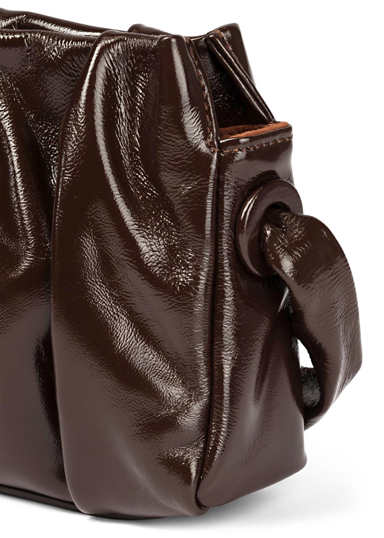 Long Vague Patent Baguette Bag image number 2