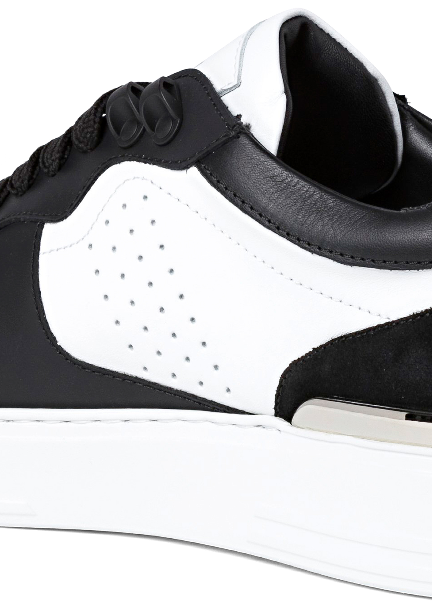 Lo-Top Sneakers mix leathers G.O.A.T. TM image number 3