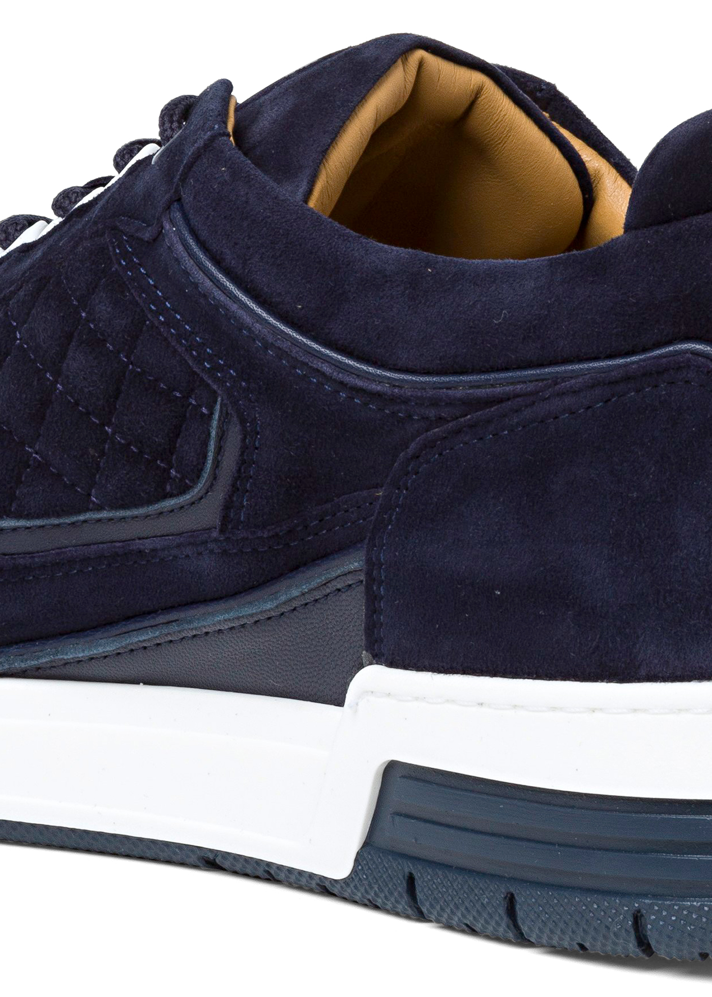Low Top - Turbo - Blue Velour image number 3
