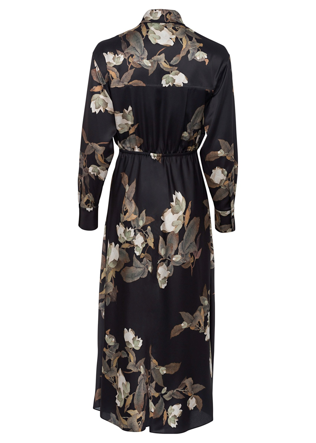 LISIANTHUS TIE FRONT SHIRT DRESS image number 1