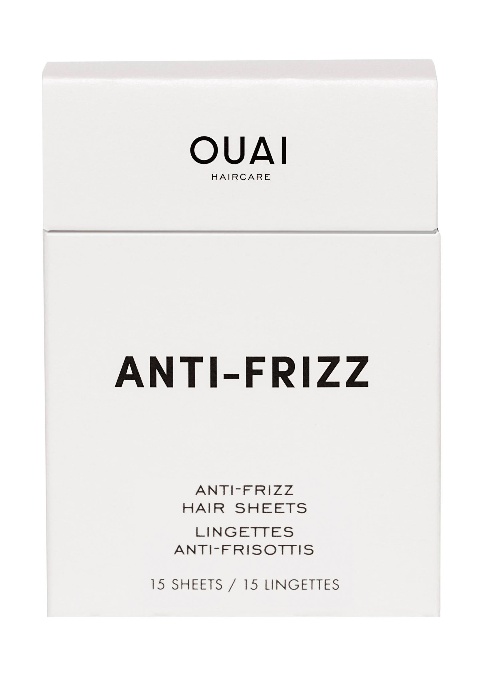Ouai ANTI FRIZZ SHEETS (15 sheets) image number 0