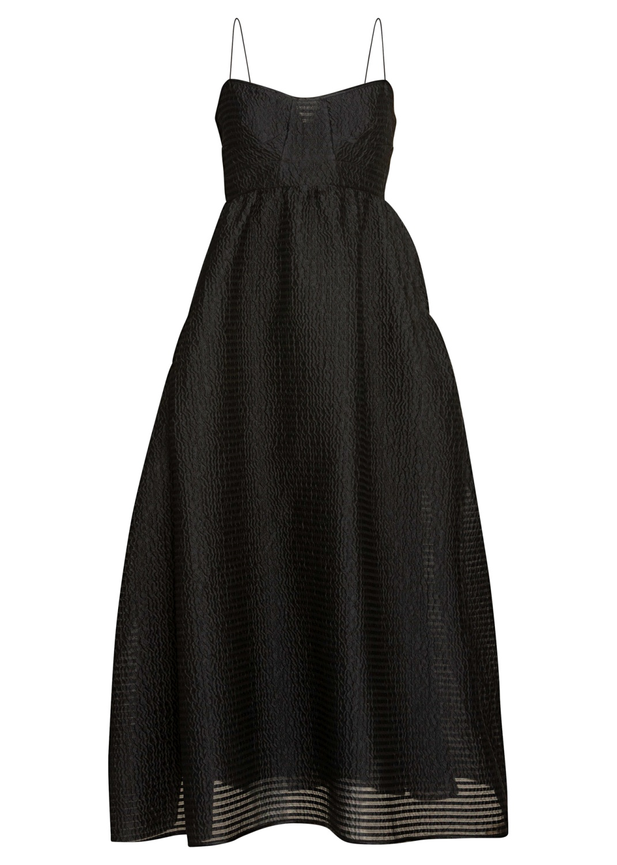 BANDEAU DRESS WITH GATHERED POCKETS image number 0