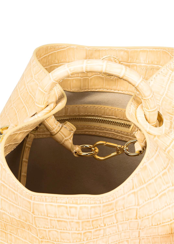 Raisin Croco Bucket Bag Large image number 3