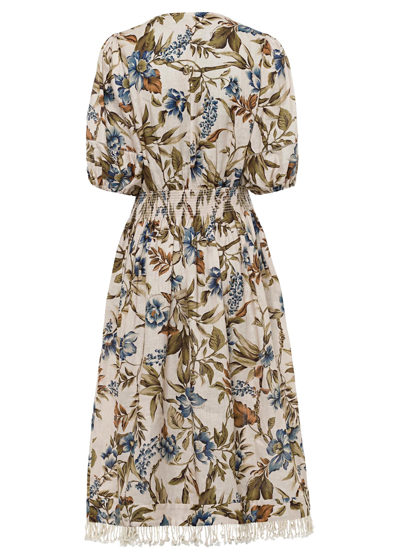 Aliane Shirred Waist Dress image number 1