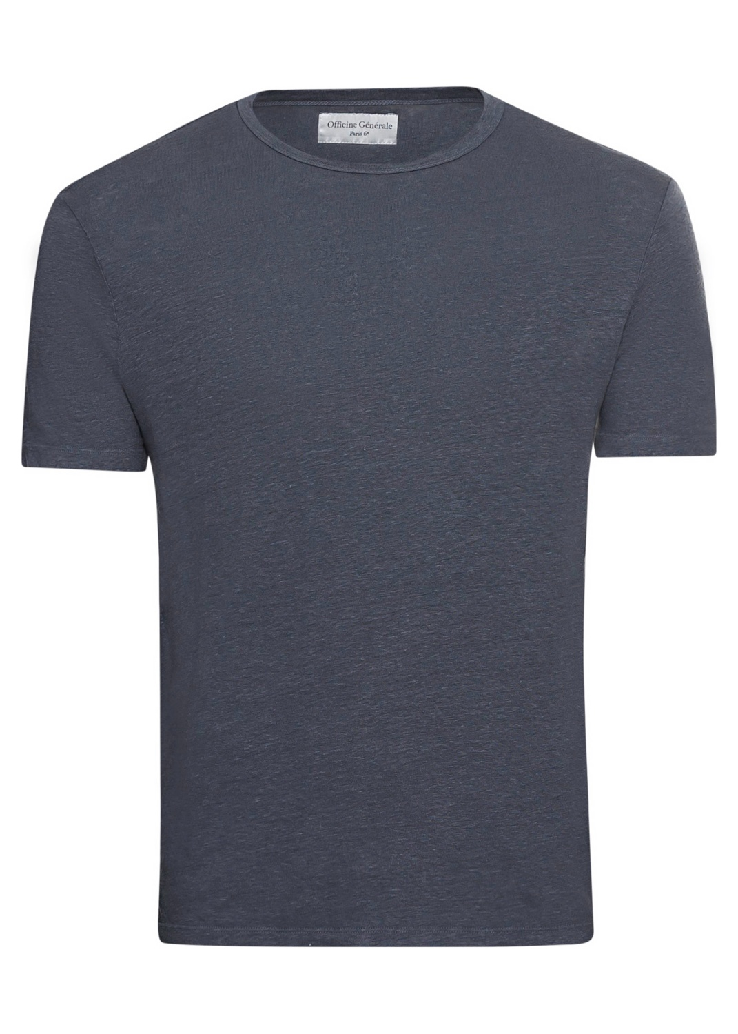 SS TEE PIECE DYED LINEN image number 0