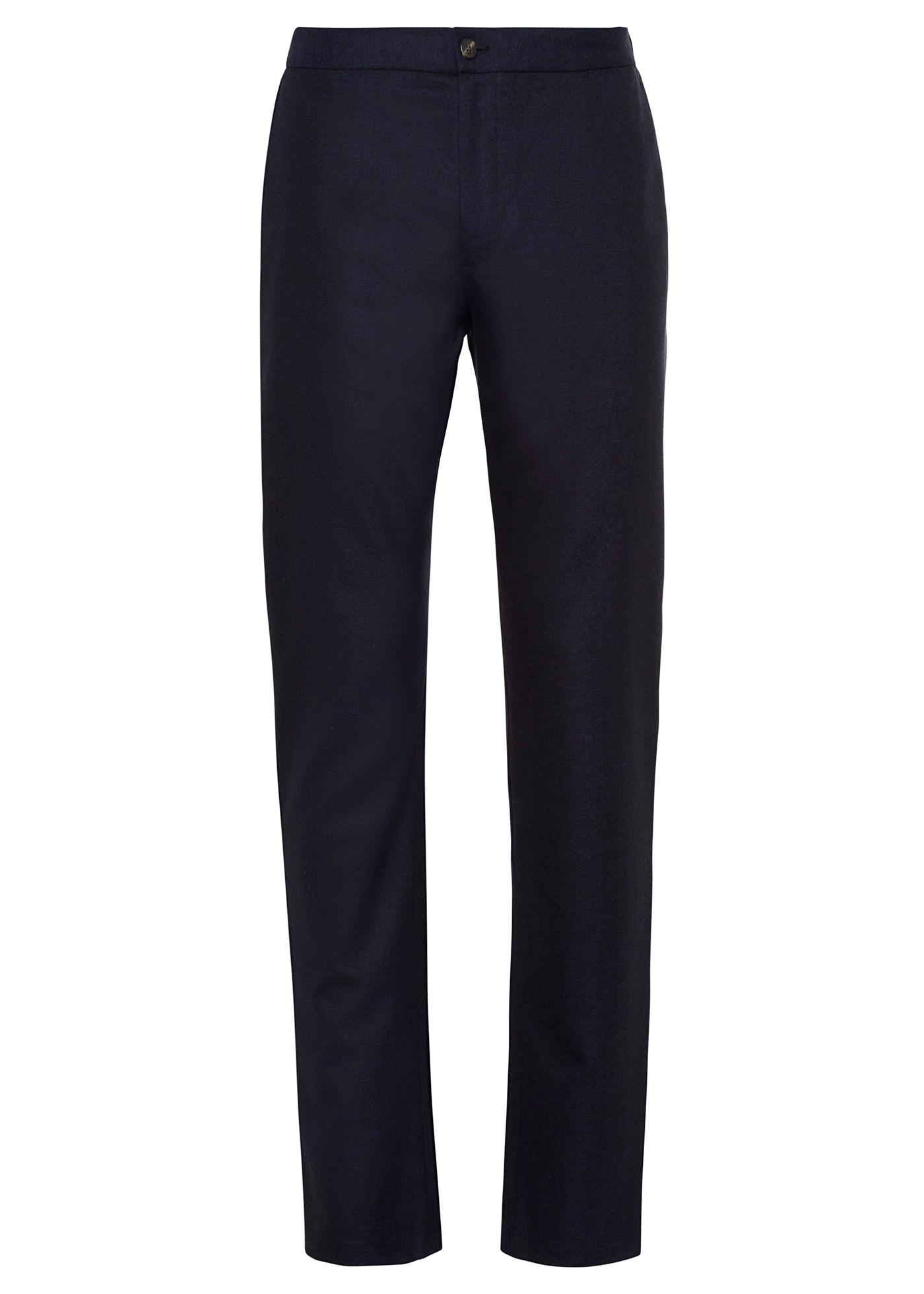 Fine Wool Drawstring Man Trouser image number 0