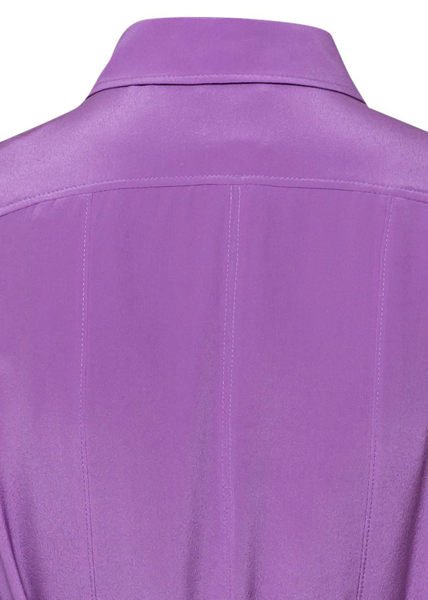 PLEATED SILK SHIRT DRESS image number 3