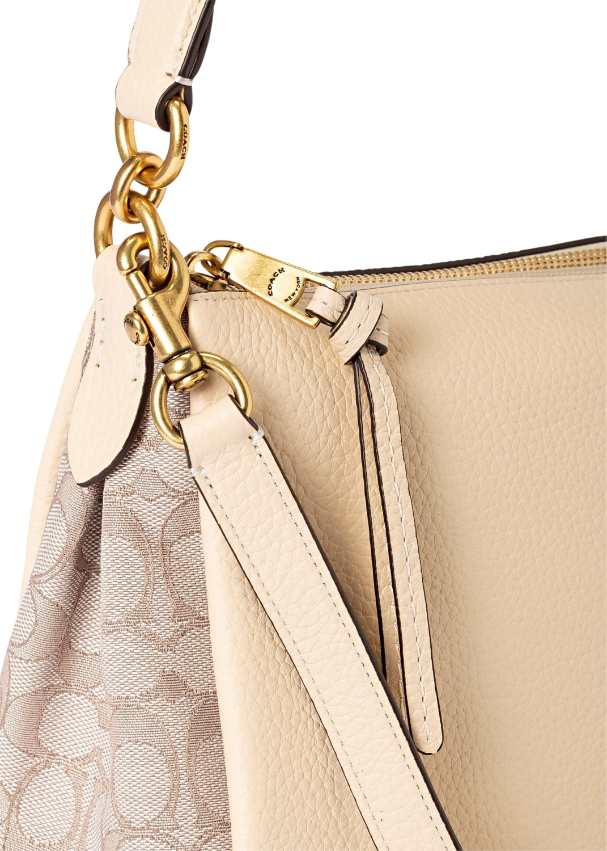 signature jacquard shay shoulder bag image number 2