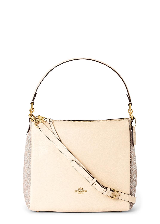 signature jacquard shay shoulder bag image number 0