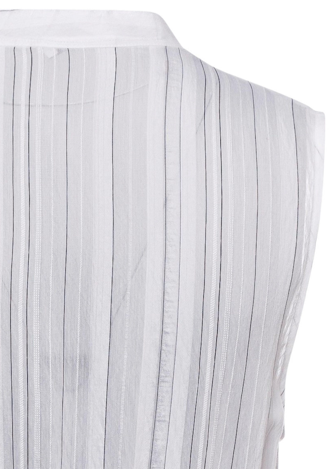 DRAPEY STRIPE TIERED DRESS image number 3