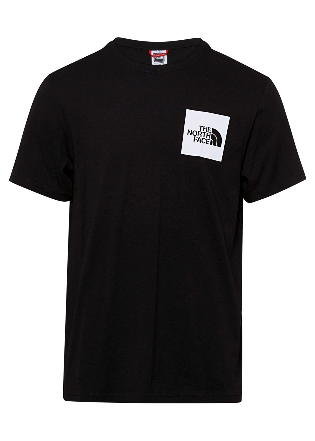M S/S FINE TEE TNF BLACK image number 0