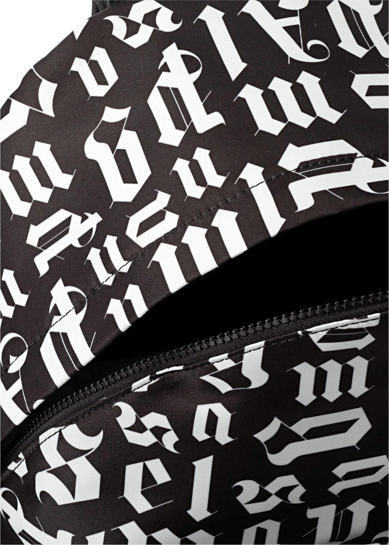 BROKEN MONOGRAM BACKPACK BLACK WHITE image number 3
