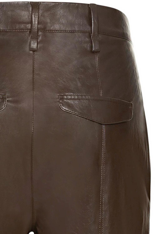 Tapered Pants in Leder-Optik image number 3